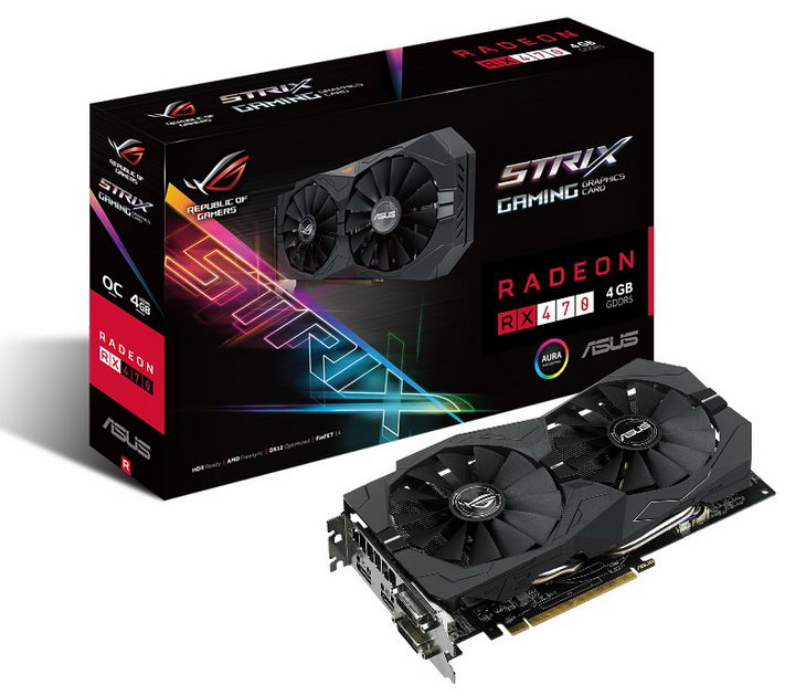ASUS RoG Strix RX 470 box