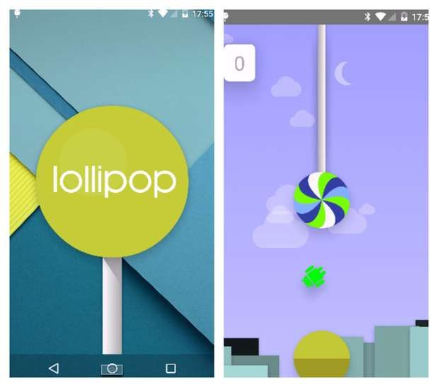 Android lollipop flappy bird