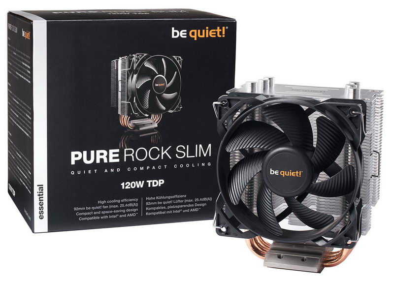 Be quiet! Pure Rock Slim 03