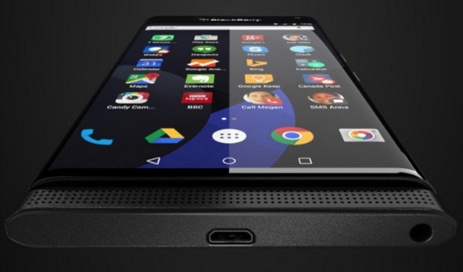 BlackBerry Venice Android smartfon