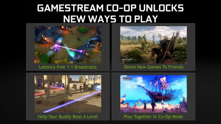 GameStream Co-op GeForce Experience
