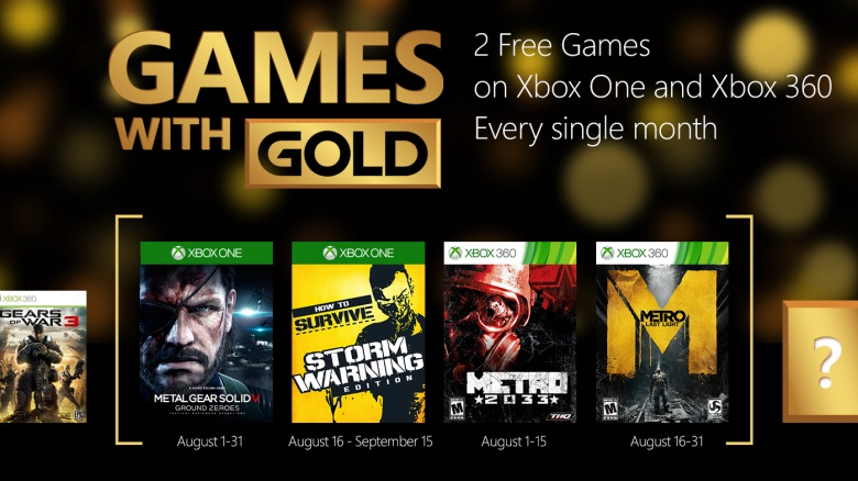Games with Gold Sierpien 2015