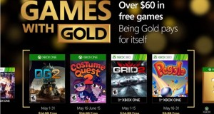 Games with Gold maj 2016