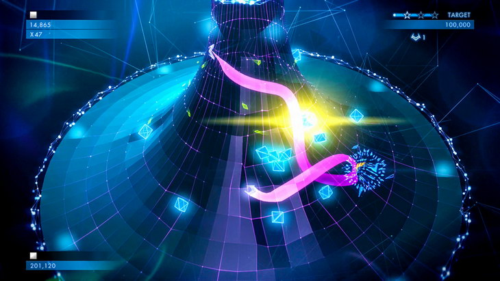 Geometry Wars 3 Dimensions Evolved ps vita