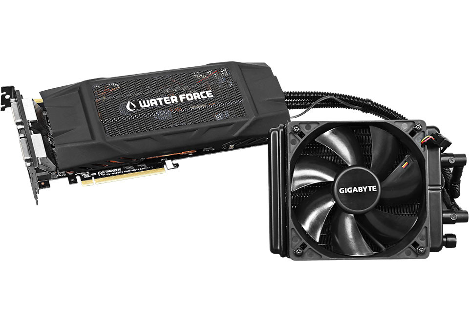 Gigabyte GeForce GTX 980 WATERFORCE 01