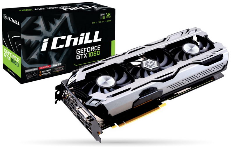 Inno3D GeForce GTX 1060 X3