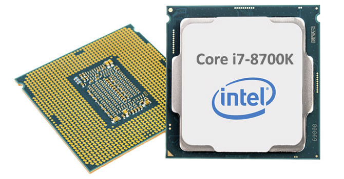 Intel Core i7-8700K logo