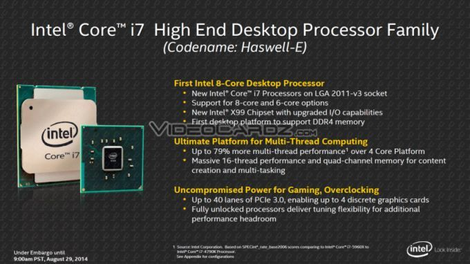 Intel-Haswell-E photo 1