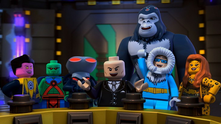 LEGO DC Comics Super Heroes – Justice League Attack of the Legion of Doom