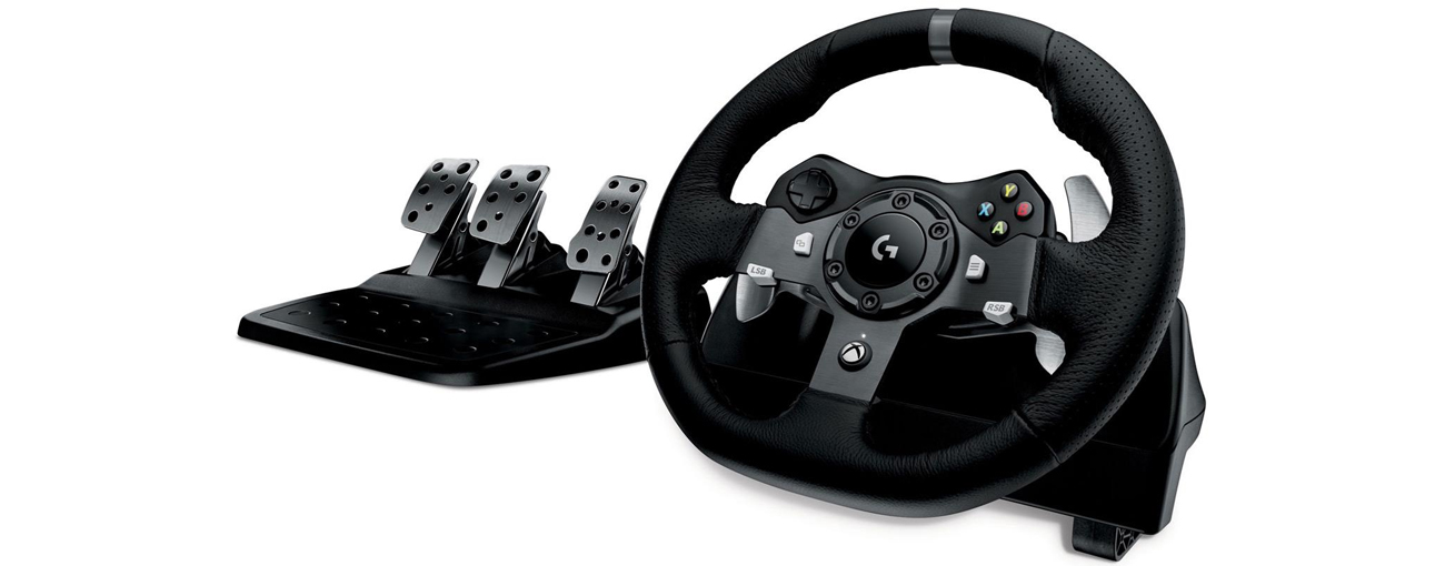 Logitech G920 Driving Force 01