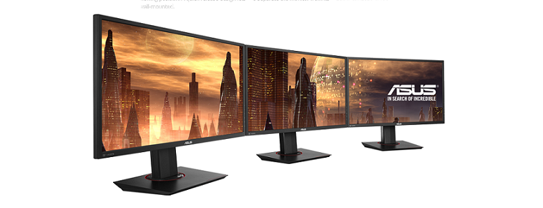 MG278Q Triple-monitors