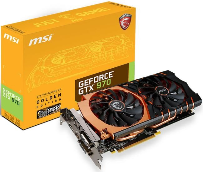 MSI GTX 970 GAMING 4G GOLDEN EDITION 01