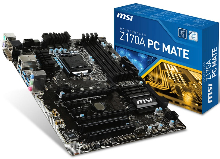MSI Z170A PC Mate 01