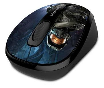 Microsoft Wireless Mobile Mouse 3500 Halo Limited Edition The Master Chief 01