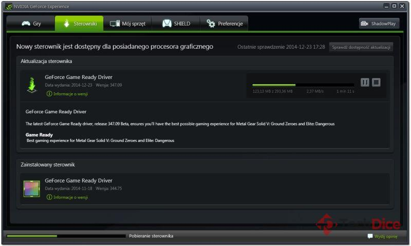NVIDIA Game Ready Driver 347.09 WHQL photo 1