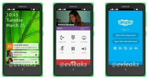 Nokia Normandy Android UI