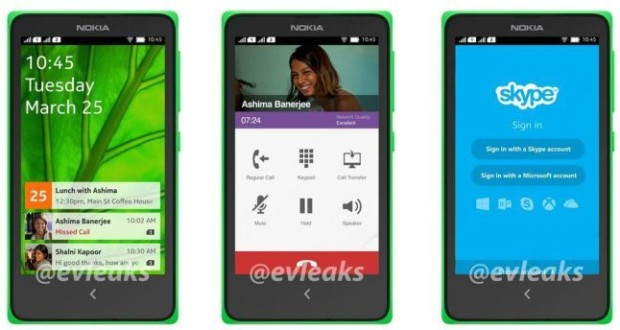 Nokia Normandy Android UI photo 1