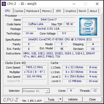 OC Intel Core i7-8700K 01