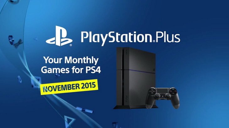 PS Plus listopad 2015