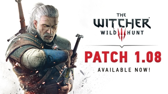 Patch 1.08 do gry Wiedźmin 3 Dziki Gon
