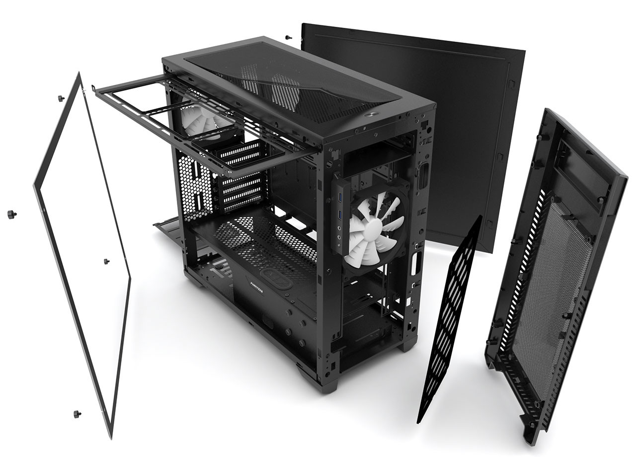 Phanteks Enthoo PRO M Acrylic Window Edition 01