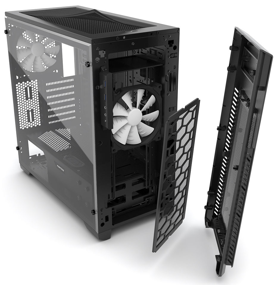Phanteks Enthoo PRO M Acrylic Window Edition 02