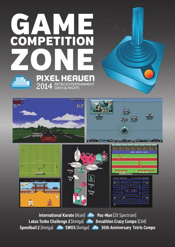 Pixel Heaven 2014 Game Competition Zone