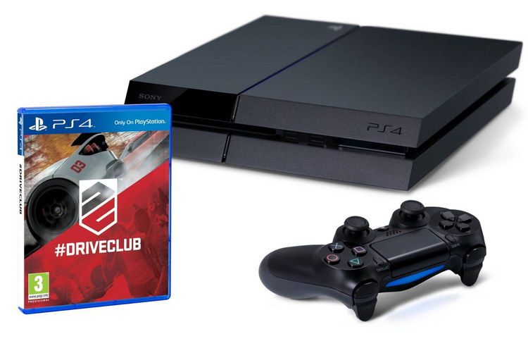 PlayStation 4 driveclub bundle