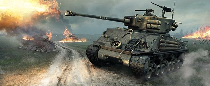 Sherman FURY - World of Tanks