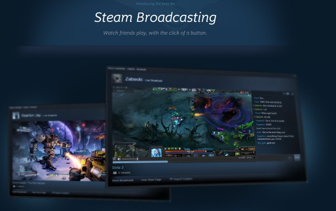 Steam Broadcasting 01