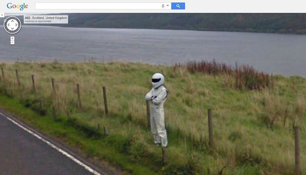 Stig google maps street view