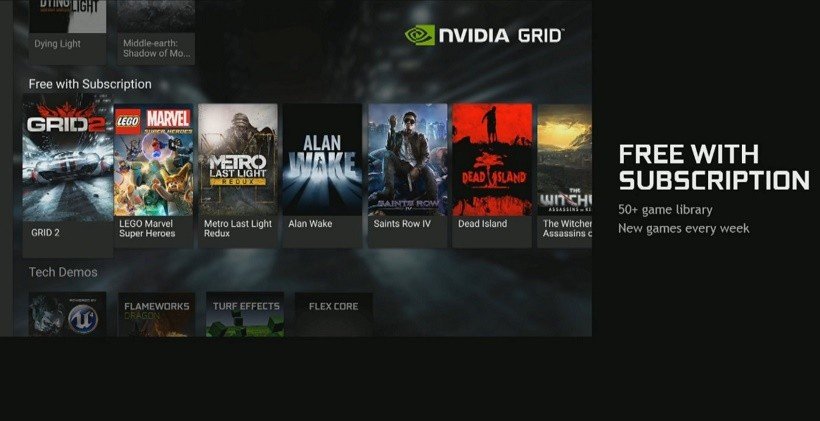 Streaming service NVIDIA Grid
