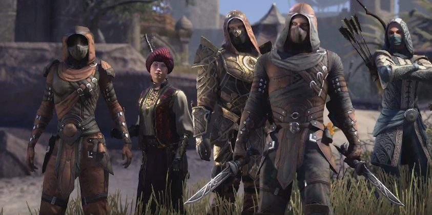 The Elder Scrolls Online Tamriel Unlimited - Thieves Guild