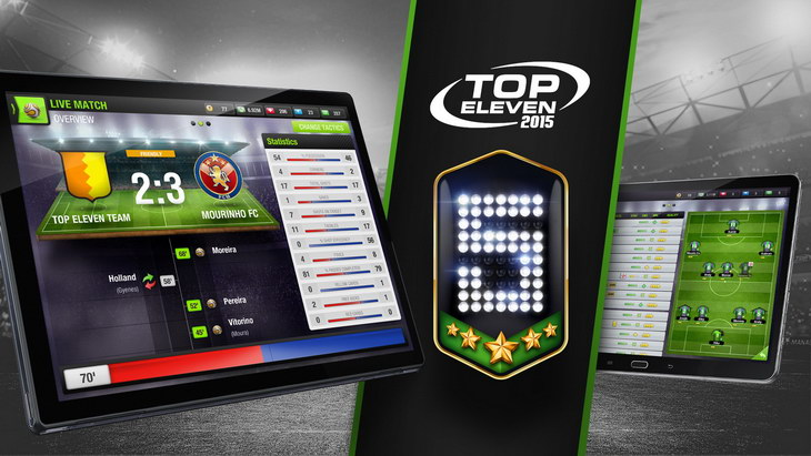 Top Eleven devices 5 years