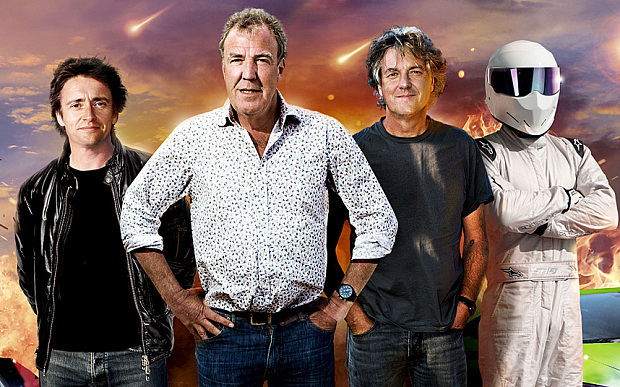 Top gear prezenterzy