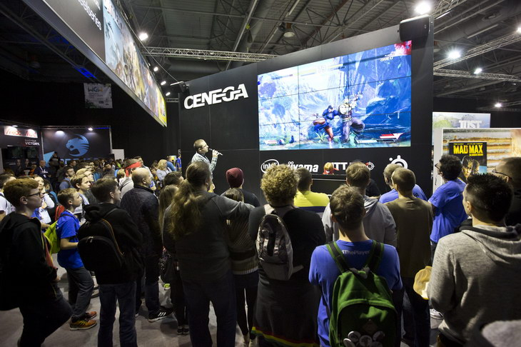 Warsaw Games Week Cenega