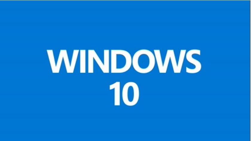 Windows 10 text