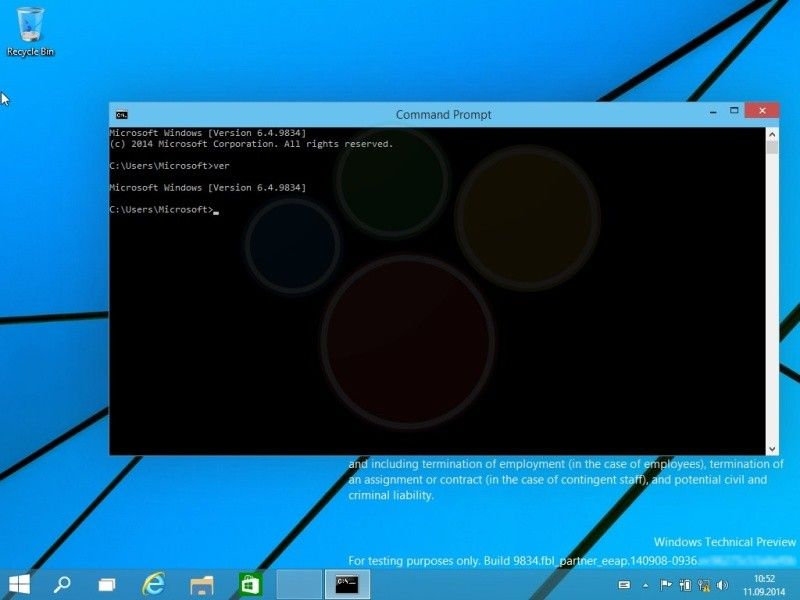 Windows 9 preview 03