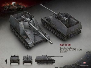 WoT Renders Germany Nashorn