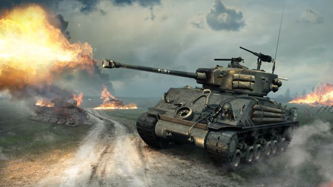 World of Tanks Fury Tank 01