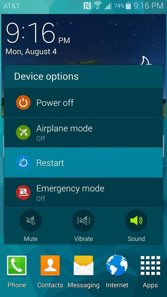 galaxy s5 Android Lollipop