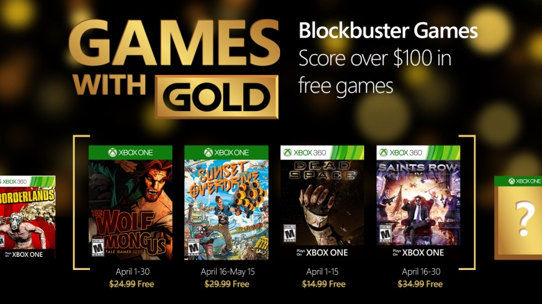 games with gold kwiecien 2016