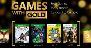 Games with Gold lipiec 2015
