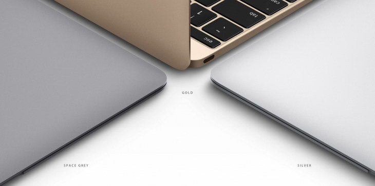 nowy MacBook Air kolory