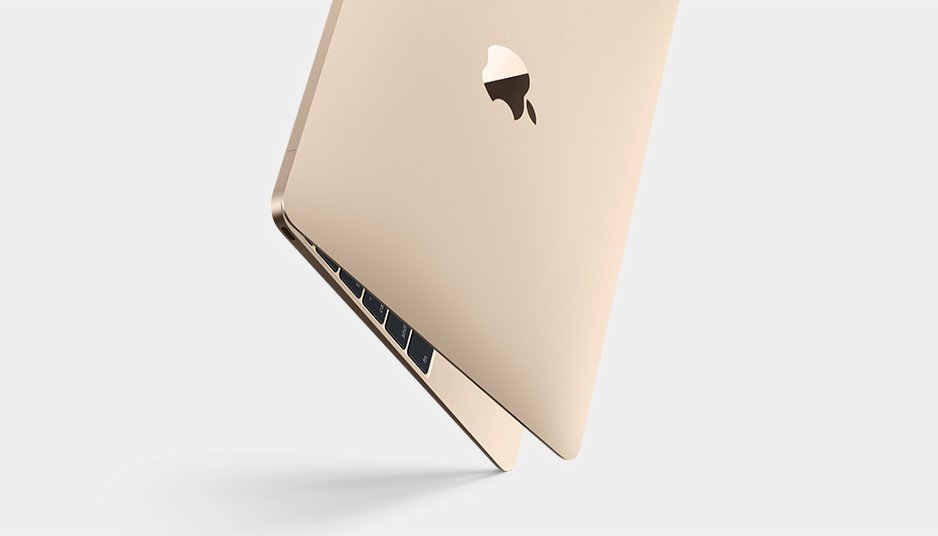 nowy MacBook Air zloty
