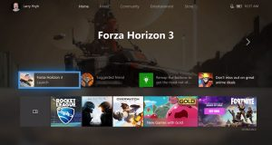 nowy dashboard xbox one 2017