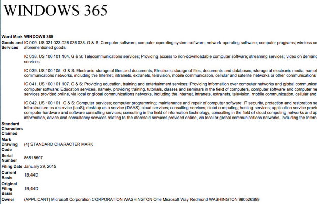 windows-365-uspto-trademark-microsoft