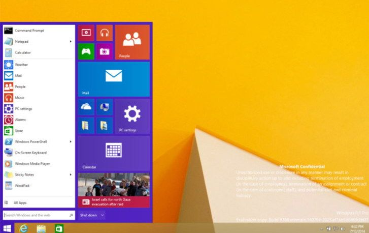 windows 9 treshold preview