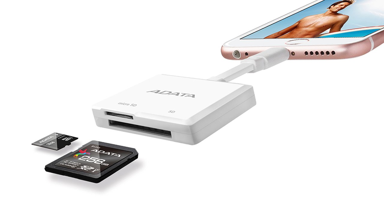 ADATA Lightning Card Reader 03