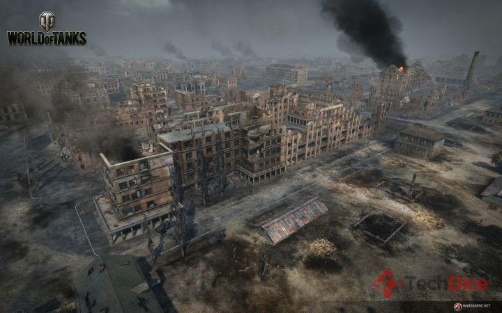 Aktualizacja 9.4 do World of Tanks - mapa stalingrad